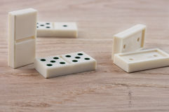 Dominoes playing Royalty Free Stock Image