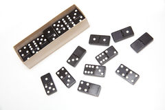 Dominoes set Stock Photos
