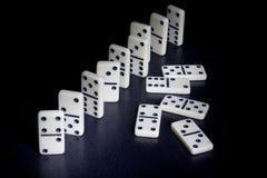 Dominos Stockfoto