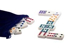 Dominos. Lizenzfreie Stockbilder