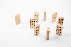 Dominos stockbild