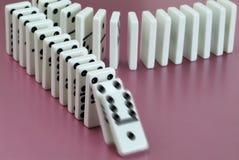 Dominos Lizenzfreies Stockfoto