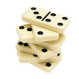 Dominos Lizenzfreie Stockfotos