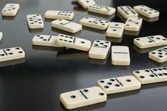 dominos Photo libre de droits