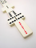 Dominos concept Royalty Free Stock Image