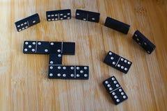 Dominospiel Lizenzfreies Stockbild