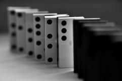 Dominostücke Stockfotos