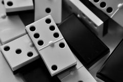 Dominostücke Lizenzfreie Stockfotografie