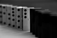Dominostücke Stockfotografie