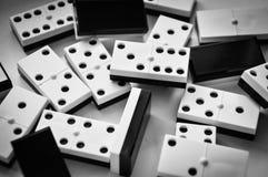 Dominostücke Lizenzfreies Stockfoto
