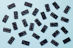 Dominostukken stock afbeelding