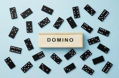 Dominostukken stock foto