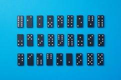 Dominostukken royalty-vrije stock foto