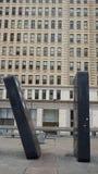 Dominostukken het Spel Art Park bij van de 'Uw Bewegings' Raad in Philadelphia Stock Afbeeldingen
