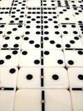 Dominoyttersida arkivbild