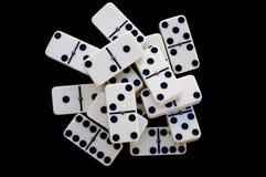 Dominoziegelsteine Lizenzfreie Stockfotografie