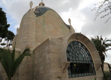 Dominus Flevit Church. In Jerusalem, Israel Stock Photos