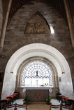 Dominus Flevit. Roman Catholic church, on the Mount of Olives in Jerusalem Stock Photography