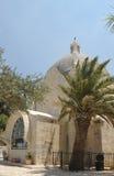 Dominus Flevit. Roman Catholic church, on the Mount of Olives in Jerusalem Stock Photos