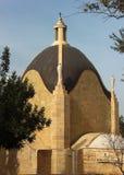 Dominus Flevit Roman Catholic church in the shape of teardrop. On the Mount of Olives, Jerusalem, Israel Stock Image