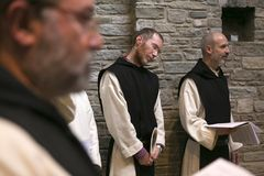 Dominus Tecum Monastery - Pra`d mill. Near Turin a Cistercense`s seclusion monastery open his spirituality to the pillgrims Royalty Free Stock Photos