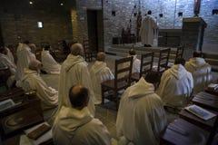 Dominus Tecum Monastery - Pra`d mill. Near Turin a Cistercense`s seclusion monastery open his spirituality to the pillgrims Stock Photography