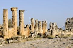 Domitian门在希拉波利斯 库存照片