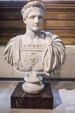 Domitian Emperor a partir del 81 al mármol de 96 ANUNCIOS Lumbrera Imagen de archivo