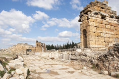 Domitian gate in Hierapolis Stock Image