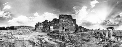 Domitian gate in Hierapolis Royalty Free Stock Images