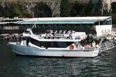 Domizia motor vessel Stock Photos
