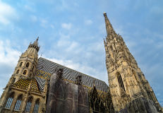 Domkirche St Stephan. Cathedral of St Stephan in Vienna Stock Photo