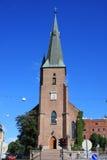 Domkirke de St Olav l'église catholique Sentrum O central de cathédrale photo stock