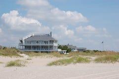 domku na plaży wrightsville Obrazy Royalty Free