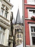 Domkyrka Aachen Royaltyfria Bilder