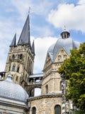 Domkyrka Aachen Arkivbilder
