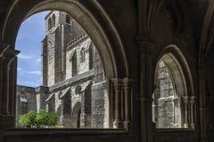 Domkyrka av Ã-‰ voraen i Portugal Arkivfoto
