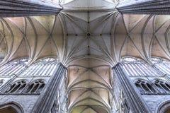 Domkyrka av Amiens, picardie, Frankrike Royaltyfria Foton