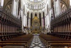 Domkyrka av Amiens, picardie, Frankrike Fotografering för Bildbyråer
