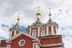 Domkyrka av antagandenunnekloster, stad Kolomna Royaltyfri Bild