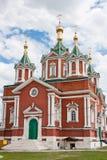 Domkyrka av antagandenunnekloster, stad Kolomna Fotografering för Bildbyråer