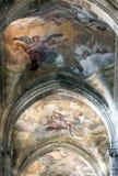 Domkyrka av Asti, inre Royaltyfria Bilder