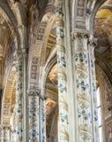Domkyrka av Asti, inre Royaltyfri Bild