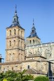Domkyrka av Astorga Spanien Fotografering för Bildbyråer