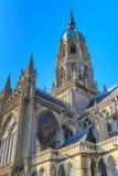 Domkyrka av Bayeux, Normandie, Frankrike Arkivbild