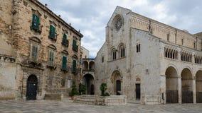 Domkyrka av Bitonto - Apulia (Italien) Arkivbild