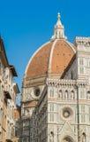 Domkyrka av Brunelleschi i Florence Fotografering för Bildbyråer