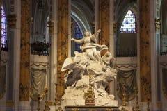 Domkyrka av Chartres Royaltyfria Foton