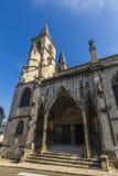 Domkyrka av Chaumont, Frankrike Arkivfoto