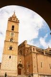 Domkyrka av Chieti Italien Arkivbilder